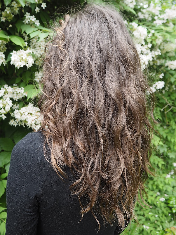 Wavy Curly Hair No Poo