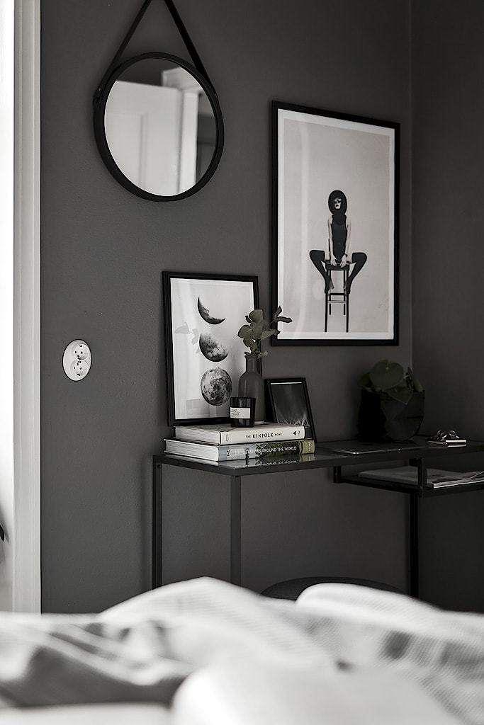 apartment with grey shades
