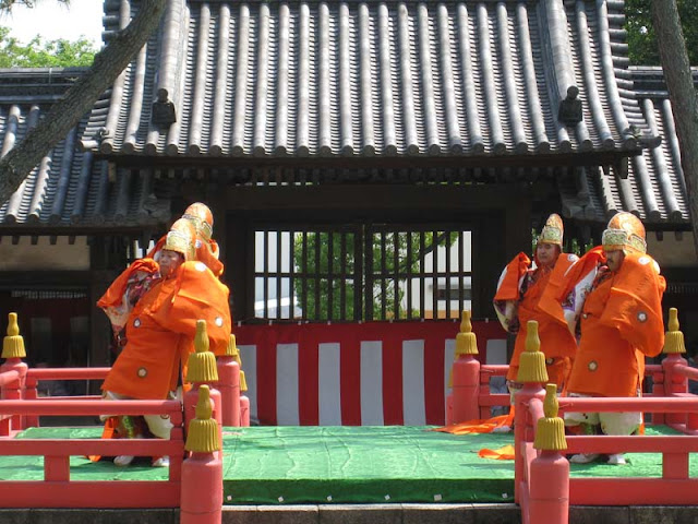 Unoha Shinji (holy ceremony for the anniversary of Sumiyoshi Shrine), at Sumiyoshi Shrine, Osaka