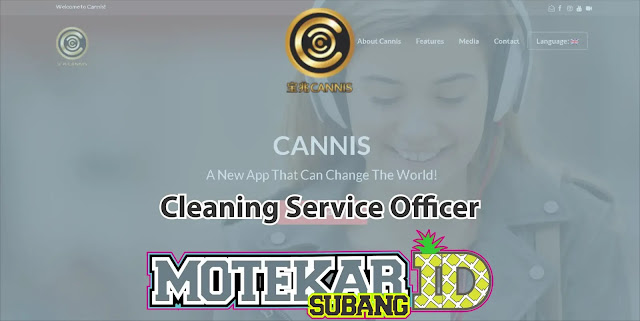 Info Lowonga Kerja Cleaning Service Officer CANNIS App Bandung 2019