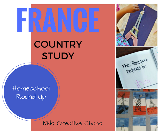 France Country Study with Worksheets.