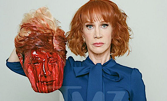 KATHY GRIFFIN SELLS F*** TRUMP GOODS ON TWITTER: How is this not a violation of Twitter's terms of service?'