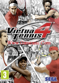 Virtua Tennis 4 Game Cover