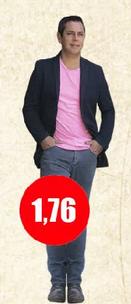 Cuánto mide José Miguel Viñuela