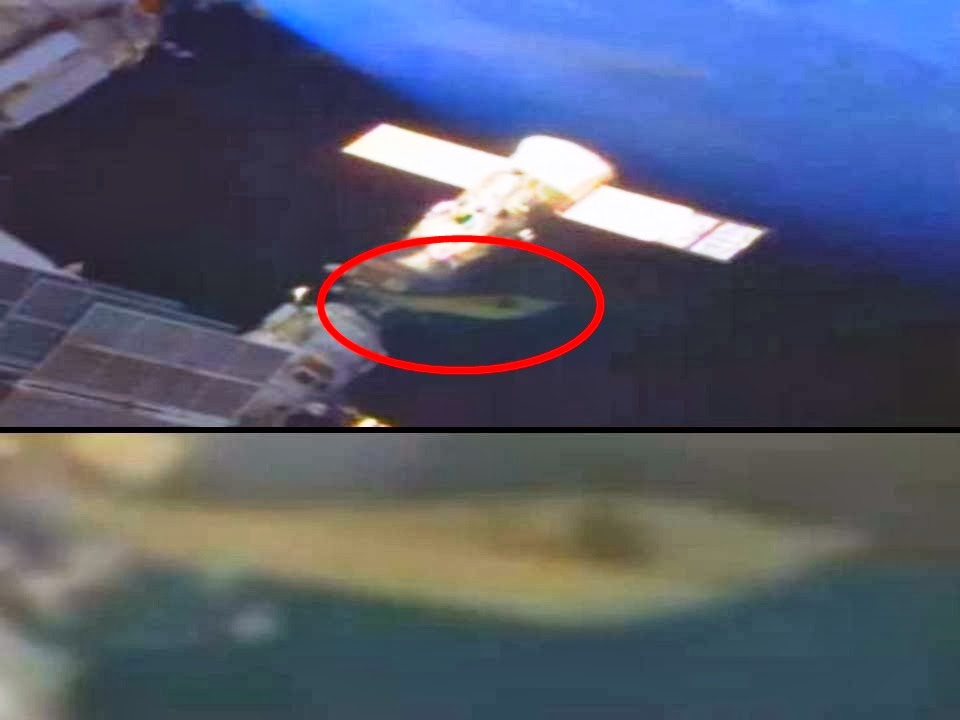 UFO docked at International Space Station? (Video) – Feb 6 ...