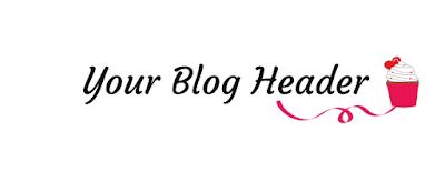 Blog Header Cupcake FREE