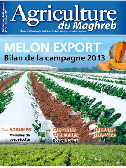 المجلة الزراعية المغربية العدد 70     Agriculture du maghreb