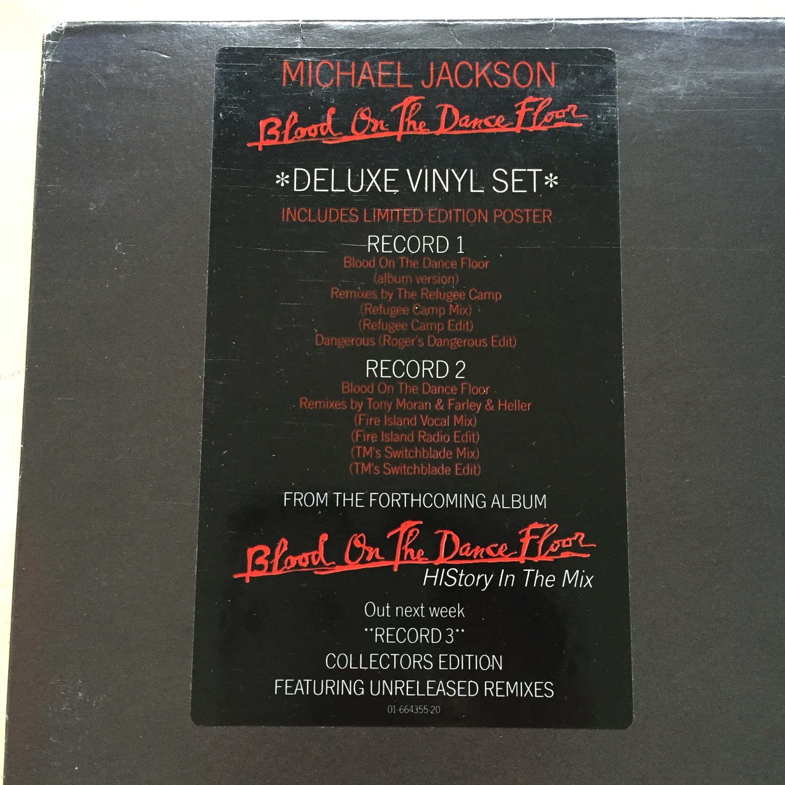 Music Haven Singles 13 Michael Jackson Blood On The