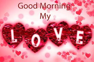 Romantic Good Morning Image for Whatsapp