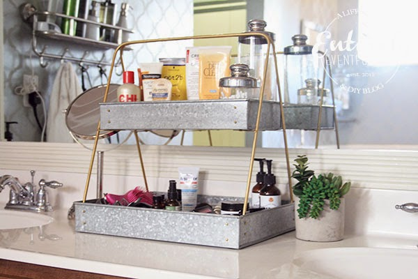 Delightful Bathroom Counter Organizer Interior Design