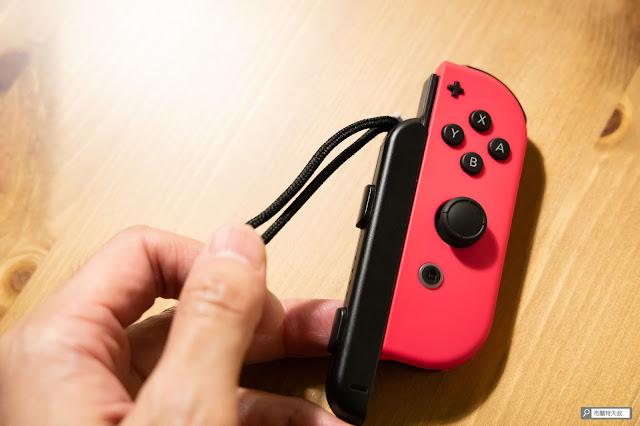【生活分享】Switch Joy-Con 控制器腕帶「裝反」這樣處理 - 卸下腕帶