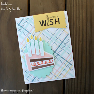 Emma's birthday card (front) - Stamptacular Blog Hop