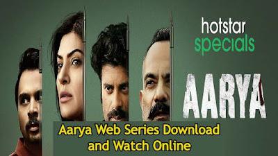 Aarya Web Series Download and Watch Online Tamilrockers