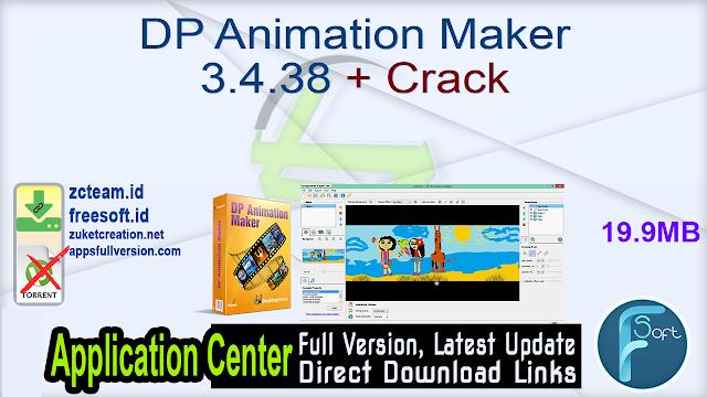 DP Animation Maker 3.4.38 + Crack_ ZcTeam.id