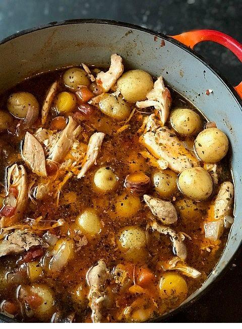 One Pot Paleo Chicken & Veggies