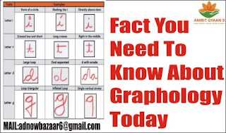Fact You Need To Know About Graphology Today