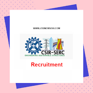SERC Chennai Walk-IN on 1st October 2019 for Technician Apprentice