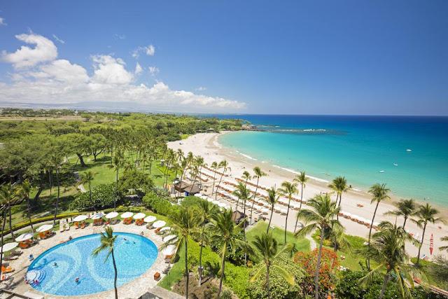 Pantai Mauna Kea, Hawaii, AS