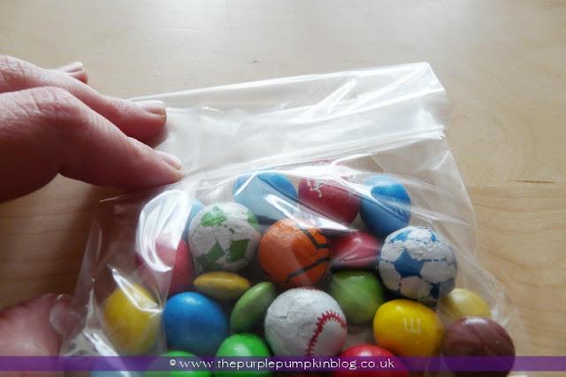 London 2012 Olympics Favor Bags at The Purple Pumpkin Blog