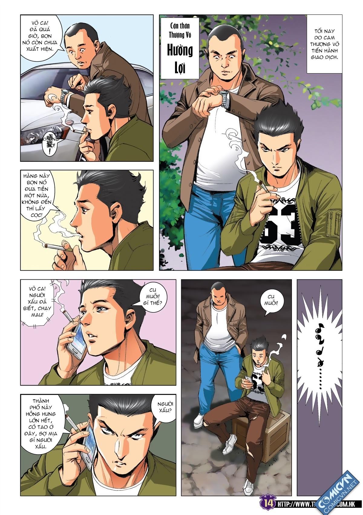 Người Trong Giang Hồ chapter 1875: lập hoa vs tá duy trang 11