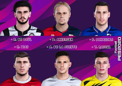 PES 2020 New Facepack V5 by Raden