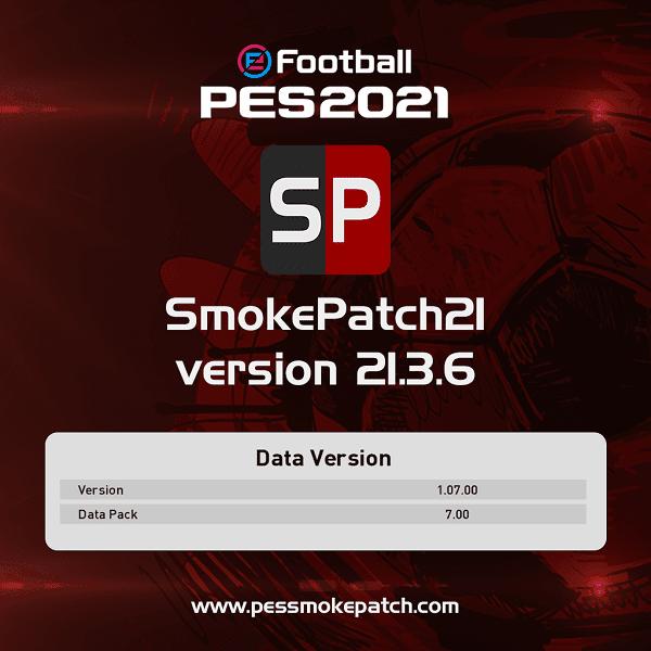 PES 2021 Smoke Patch version 21.3.6