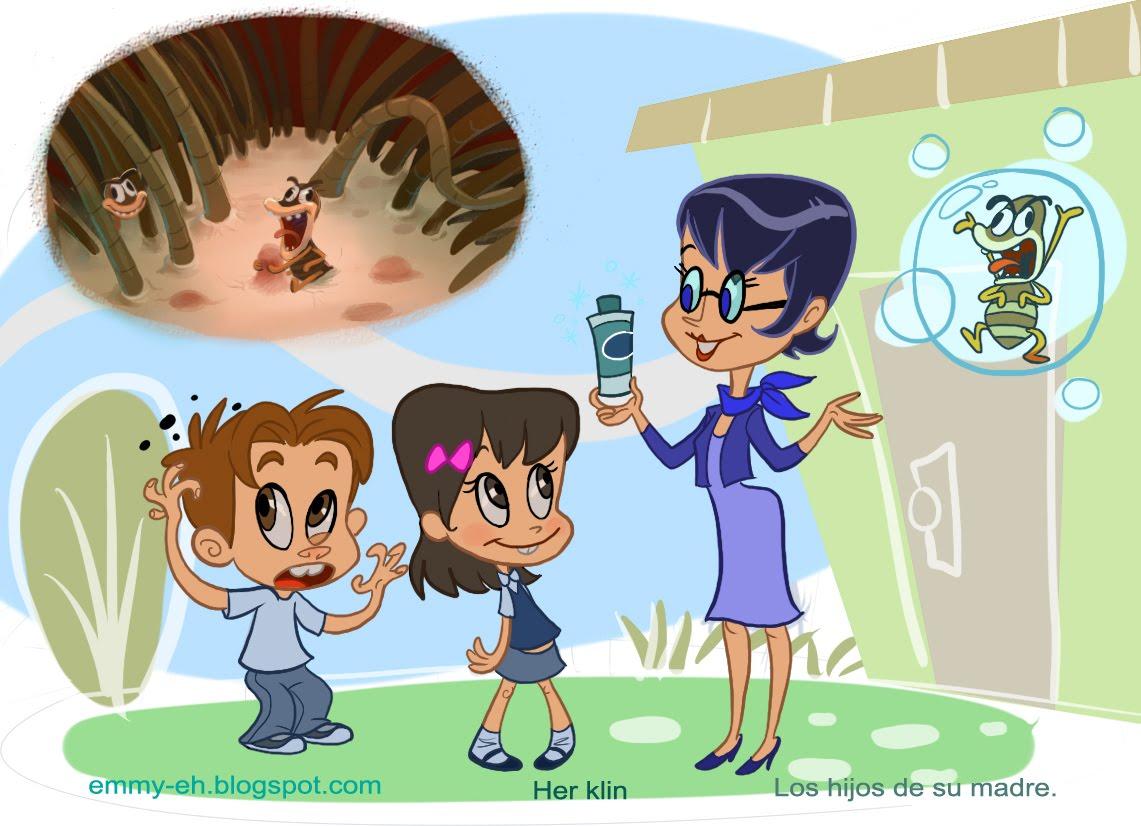 Imagenes De Piojos Animados: Mil Ideas !: Pediculosis