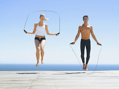 nhảy dây giúp người gầy tăng cân