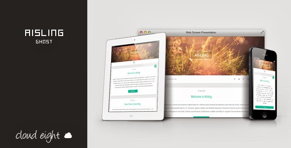 Free Responsive Ghost Theme