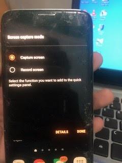 cara rekam layar android