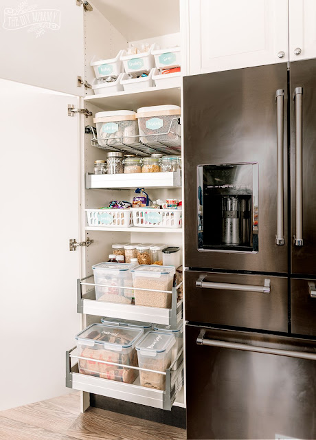 Small Pantry Organization Ideas