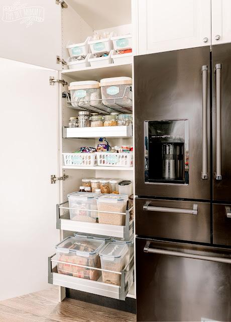 Small Pantry Organization Ideas