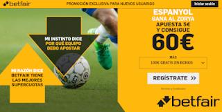 betfair supercuota Espanyol gana  Zorya 29 agosto 2019