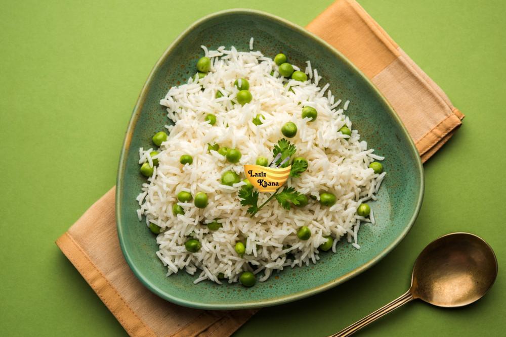 Matar Pulao Recipe in Hindi