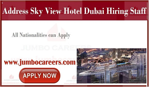 Available hotel jobs in Gulf countries,