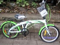 Sepeda Lipat Pacific 20-2980 6 Speed Shimano 20 Inci 2