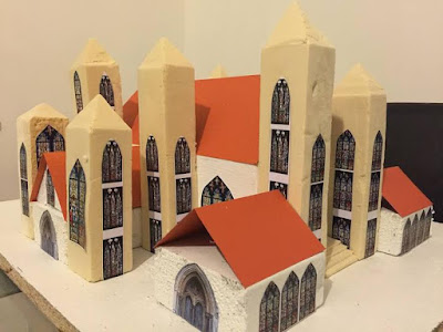 picture of 12-year-old British-born Nigerian girl designs an amazing cathedral using old files
