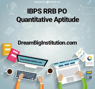 IBPS RRB PO Quantitative Aptitude Study Notes PDF