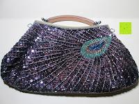 Erfahrungsbericht: Sumolux Schöne Handtasche Tasche Partytasche Abendtasche Tasche für Frauen Tasche für Damen Lila