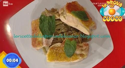 Pollo alle erbe con carciofi ricetta Gandola da Prova del Cuoco