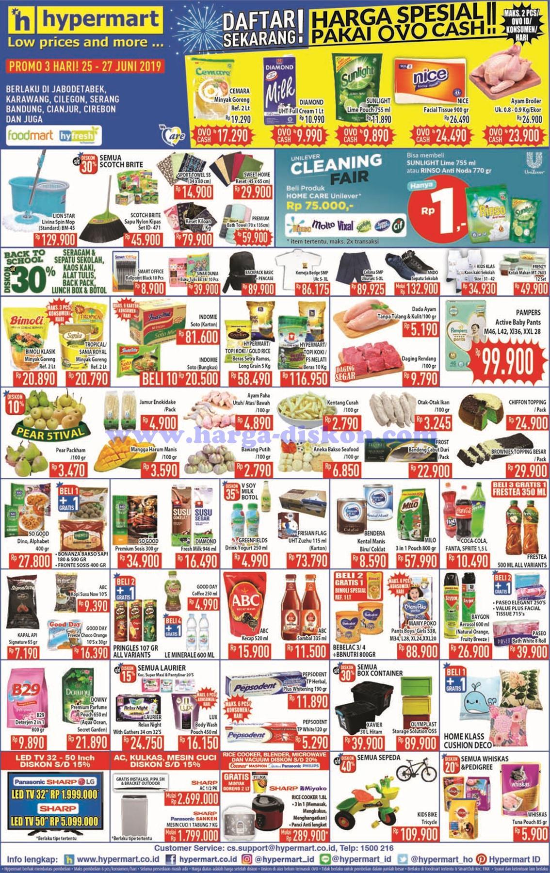 Promo Hypermart Awal Pekan 25 Juni 27 Juni 2019 Harga Diskon
