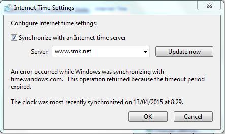 Cara Konfigurasi NTP Server