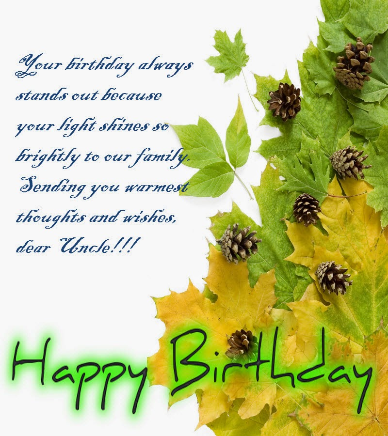 Happy Birthday Quotes For Uncle In Hindi: Happy Birthday Best Wishes For Uncle 2- Birthday Message