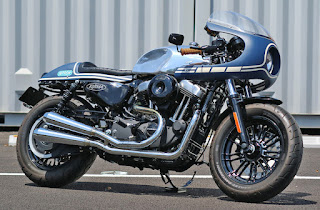 sportster forty eight cafe racer