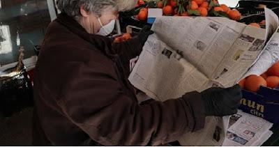 Πως καταποντίστηκαν οι πωλήσεις των εφημερίδων μετά την καραντίνα