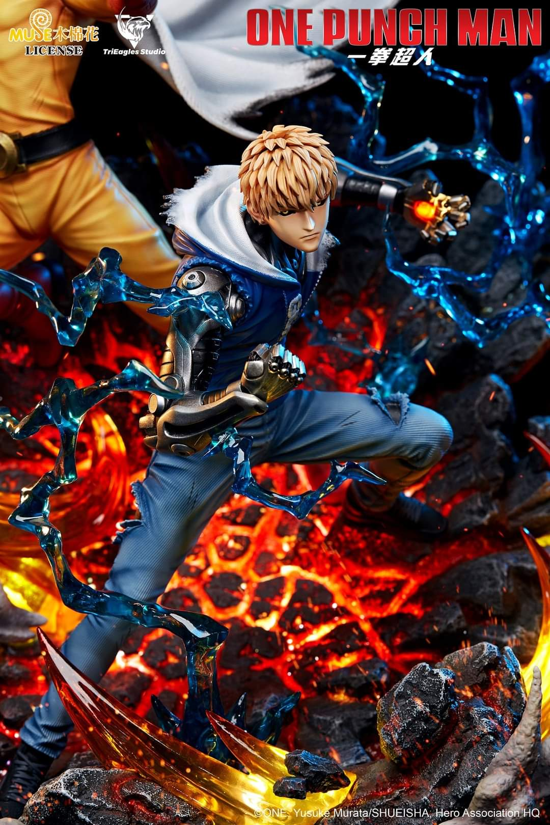 Figura One Punch-Man Saitama y Genos por TriEagles Studio