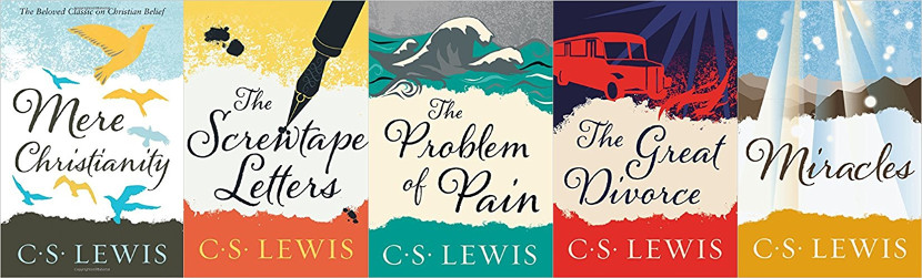 C. S. Lewis Book Covers