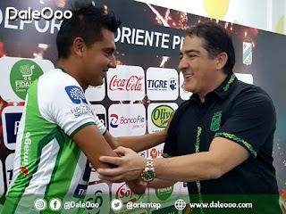 José Alfredo Castillo retorna a Oriente Petrolero - DaleOoo