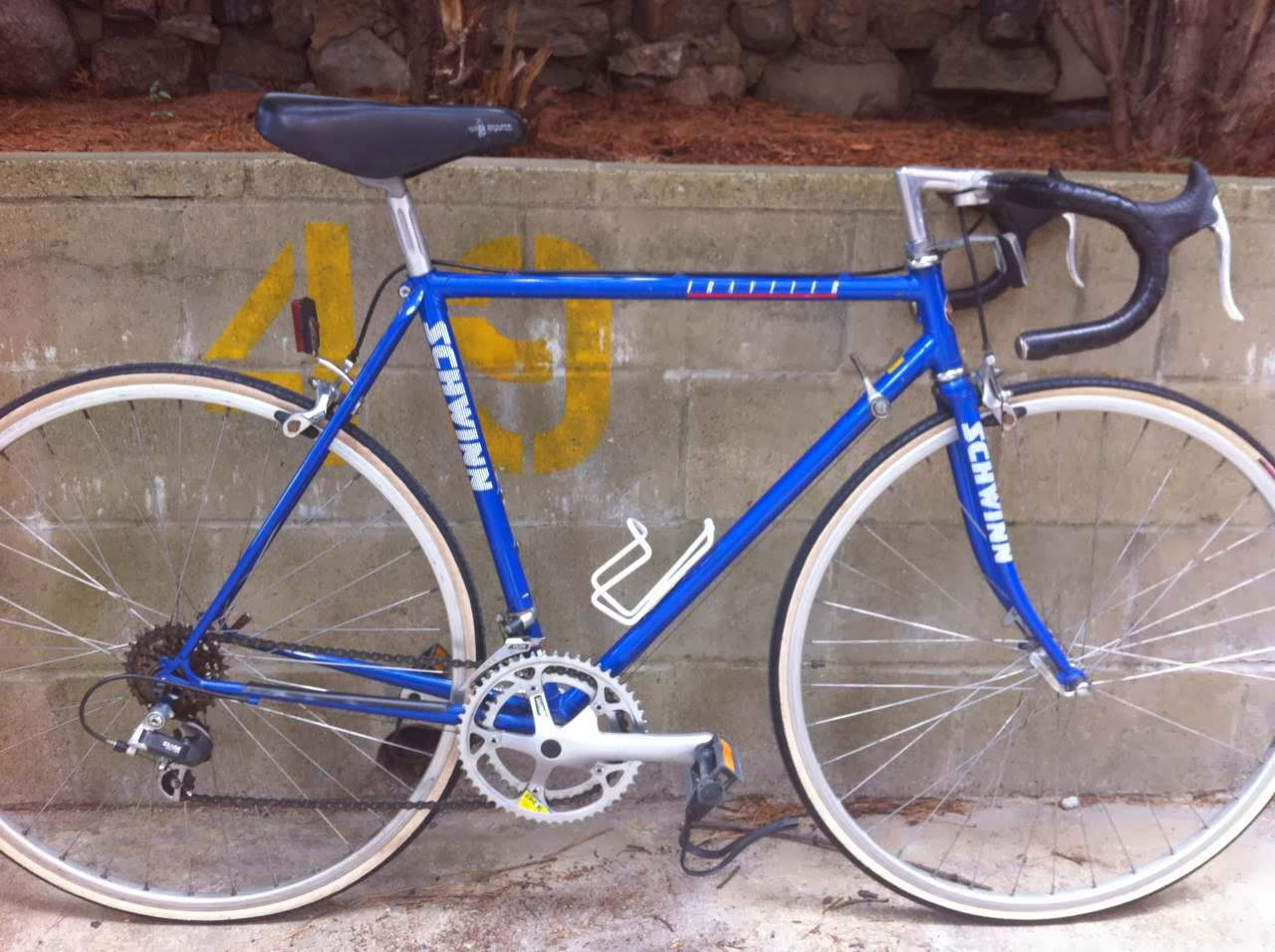 Bike Boom refurbished bikes: 1989 Schwinn Traveler Road bike