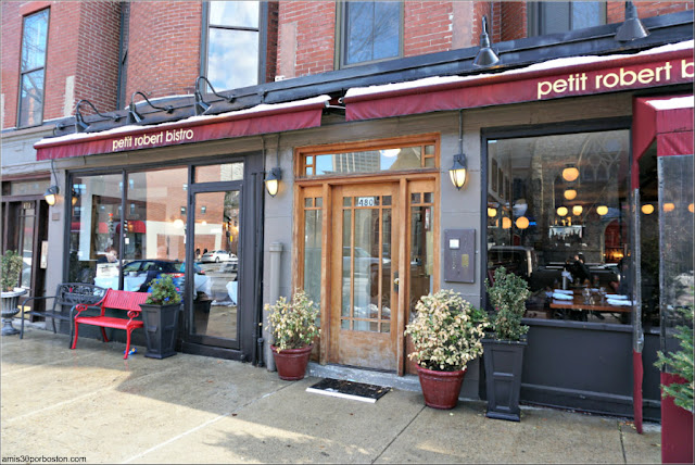 Petit Robert Bistro, Boston